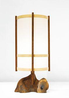 george nakashima lamp, 1977 Sotheby's: Important 20th Century Design