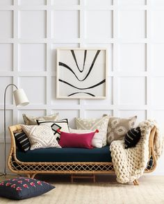 Bookmark this for rattan home decor inspiration.