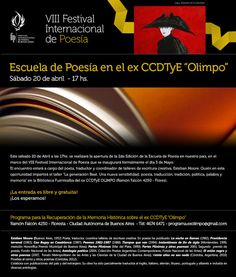 alpialdelapalabra: Seminario Poesía Beat en el ex CCDTyE Olimpo