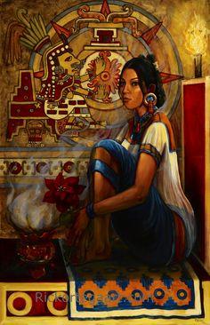 """Chantico, Goddess Of Fire"" by Ricardo Ortega."