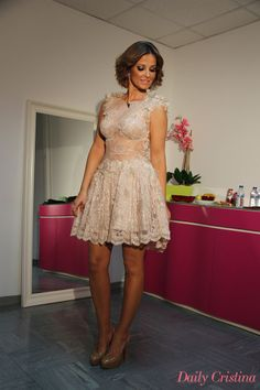 Cristina Ferreira @ Portugal Cristina Ferreira, Feminine Dress, Chic Dress, Formal Dresses, Wedding Dresses, Frocks, Casual Chic, Ideias Fashion, Glamour