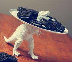 Dinosaurier-Servierteller