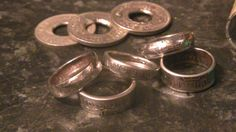 how to curl your coin ring edges