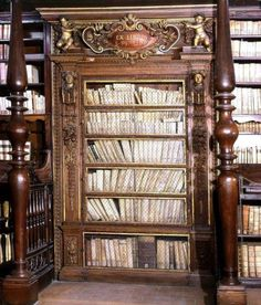 Avrupa'da bir kütüphane