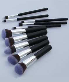 NEW Professional Makeup Set Pro Kits Brushes Kabuki Makeup Cosmetics Brush Tool EUR€18.44