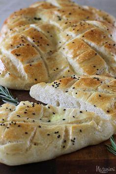 chlebové placky s černuškou