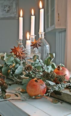 Lady-Gray-Dream - this would be an elegant centerpiece or an Autumn/Winter tables cape