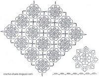 Crochet Shawls: Crochet Poncho For Spring - Free Pattern