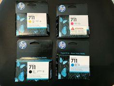 HP 711 Designjet T120 T520  CZ129A CZ130A CZ131A CZ133A