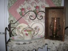 love the old dishes and tea pots