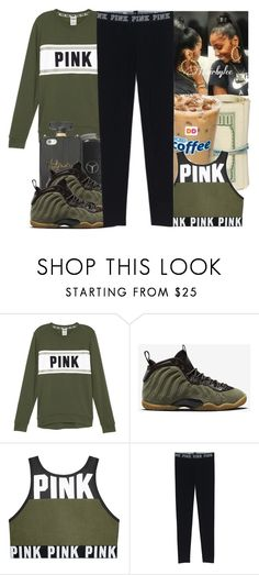 """""""BTS"""" by aribearie ❤ liked on Polyvore featuring NIKE"""