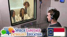 Check out the Top Speech Pathology Programs in North Carolina | NC --> http://speechlanguagepathologyeducation.com/north-carolina/