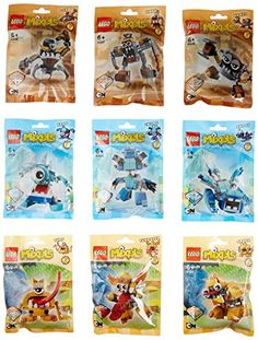 LEGO MIXELS Series 4 CARTOON NETWORK COMPLETE SET OF 9 PACKS NEW