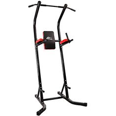 Ainfox Power Tower Pull up Bar Dip Stand Fitness Equipment Body Building Home Office * More info could be found at the image url.