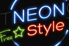 A realistic photoshop neon text effect that transforms any text and shape in a neon glow photoshop effect. It comes with...