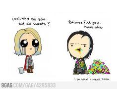 LOKI ... WHY ?!?!  #Avengers #Thor #Loki