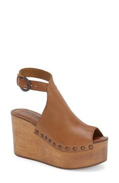 9179fce51f7 Matisse  Tiegs  Ankle Strap Platform Sandal (Women) available at  Nordstrom  Sock