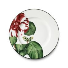 Camelia dinnerware has a graphic floral design in cheerful pinks and greens. A mix of flowers adorn each plate for a lovely bouquet of blooms at your table. Camelia is sure to become a family heirloom. Designed by Alberto Pinto. Fine China Dinnerware, Porcelain Dinnerware, China Painting, Ceramic Painting, Baccarat Crystal, Cherry Kitchen, Glazes For Pottery, China Patterns, Teller