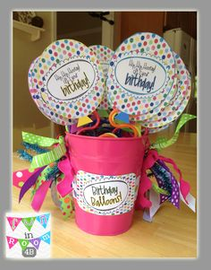 Fun in Room 4B: Monday Made It {I've Lost Count} Birthday Balloons