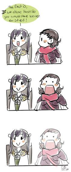 Fire Emblem Fates - Midori and Siegbert