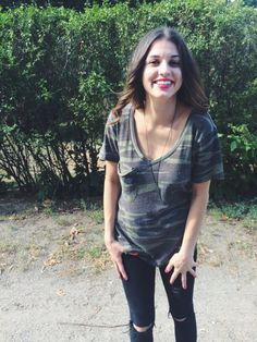 style by liv | How to wear camouflage like a fashion girl…