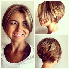 66 Chic Short Bob Hairstyles & Haircuts for Women in 2019 - Hairstyles Trends Choppy Bob Hairstyles, Bob Hairstyles For Fine Hair, Bob Haircuts For Women, Short Bob Haircuts, Haircut Bob, Short Hair Cuts, Short Hair Styles, New Hair Look, Trending Hairstyles
