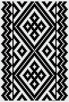Discover thousands of images about Bunad, Smykker, vev & rosemaling: Kvarde smøyg mønster Tapestry Crochet Patterns, Bead Loom Patterns, Weaving Patterns, Cross Stitch Patterns, Inkle Weaving, Inkle Loom, Tablet Weaving, Knitting Charts, Knitting Stitches