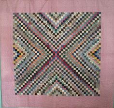 Antique 1920s PA Berks County Inverted Around The World Quilt-First Time Offered, eBay, primalthings