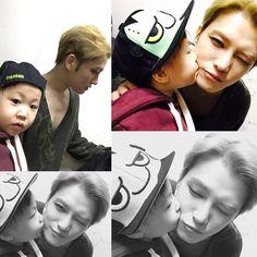 [OTHER INSTAGRAM] 170124 Uncle Jaejoong with his nephew Gunnie   JYJ3