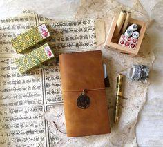 Midori Travelers Notebook, Hobonichi, Journaling on Flipboard