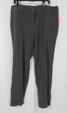 NEW Talent Plus Size Gray Dress Pants Size 3XL (D1-13) #fashion #clothing #shoes #accessories #womensclothing #pants (ebay link)