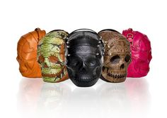 Skull Bags in the Making