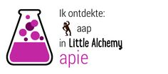 Ik ontdekte aap in Little Alchemy! http://littlealchemy.com