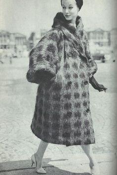1950s Mohair Coat