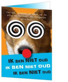 gekke verjaardagskaart 10 best Verjaardagskaarten images on Pinterest | All dogs  gekke verjaardagskaart