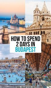 Will you be spending 2 days in Budapest? Here you will find the ultimate guide for 2 days in Budapest Voyage Europe, Europe Travel Guide, Travel Guides, Budapest Travel Guide, Backpacking Europe, Travel Hacks, Budapest What To Do, Budapest Things To Do In, Bratislava