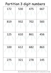 math worksheet : partition 4 digit numbers worksheet  learning  pinterest  : Maths Partitioning Worksheets