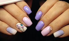 250 design : An exquisite collection of nail designs Basic Nails, Butterfly Nail, Trendy Nail Art, You Nailed It, Fun Nails, Nail Colors, Nail Designs, Nail Polish, Shapes
