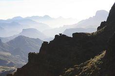 View from Cruz de Tejeda, Gran Canaria