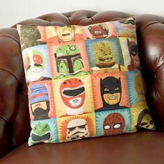 Heroes and Villains Cushion