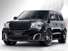 Toyota Land Cruiser Black Bison by Wald Int'l