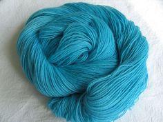 ♥ Sockenwolle 100g ♥ Schurwolle 75% ♥ Handgefärbt ♥ Made by Aleinung ♥ (115)