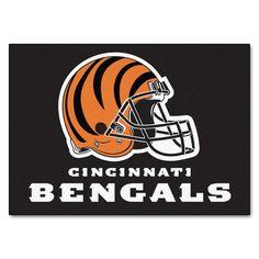 The Cincinnati Bengals FanMats NFL All Star Mat