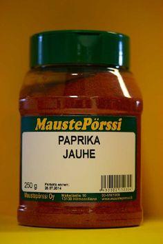 Paprika jauhe Purkki 250g