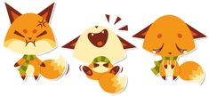 More foxies by Sprits on deviantART