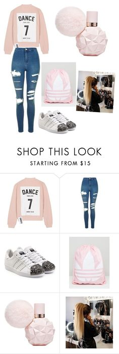 """Untitled #248"" by timcaaa on Polyvore featuring Studio Concrete, Topshop, adidas Originals and adidas"