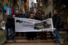 Kadraj Gezginleri fotoğrafcıları olarak Galata sokaklarını fotoğraflarken