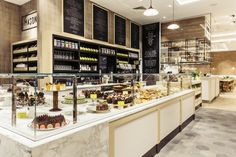 Fenwick Food Hall: CADA's brief was to create stylish interiors for a number of specialist fresh food departments including a fishmonger, a meat and game specialist (local supplier Blagdon Farm), chocolatiers, coffee roasters and a juice bar.