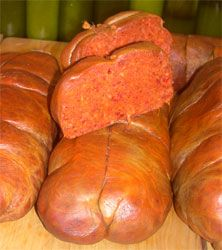 Nduja (Italian spreadable salami from Spilinga) is available at ... Nduja spicy spreadable salami