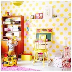 colorful kids room..